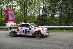 Carrefour Vehicle - Tour de France 2014 Stock Images
