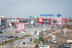 Carrefour at vitantis center Stock Image