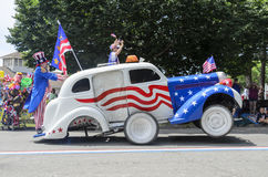 Carregado ao wheelie Imagens de Stock Royalty Free