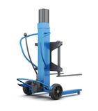 Carregador azul 3d rendem os cilindros de image Imagens de Stock Royalty Free