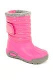 Carregador cor-de-rosa do inverno Fotografia de Stock Royalty Free
