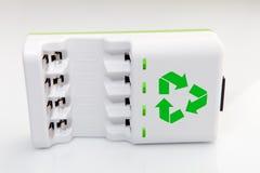 Carregador de bateria Imagem de Stock Royalty Free