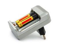 Carregador de bateria Fotografia de Stock Royalty Free