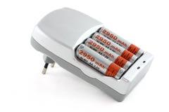 Carregador de bateria Fotos de Stock Royalty Free