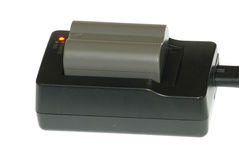 Carregador de bateria imagem de stock