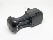 Carregador de bateria para a bateria do AA e do AAA Foto de Stock Royalty Free