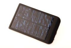 Carregador de bateria solar Fotos de Stock