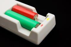 Carregador de baterias cilíndrico multifuncional Fotografia de Stock Royalty Free