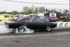 Carregador de Dodge na ação Imagens de Stock Royalty Free