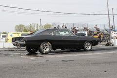Carregador de Dodge pronto para começar Imagens de Stock Royalty Free