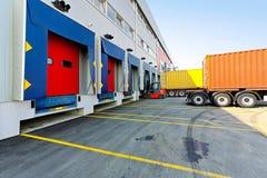 Carregador do Forklift fotos de stock