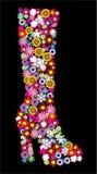 Carregador floral ilustração do vetor