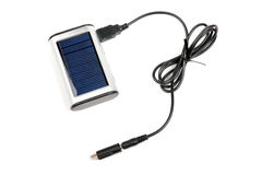 Carregador solar. Imagens de Stock