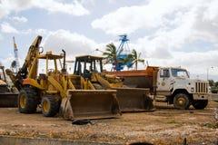 Carregadores da construção Foto de Stock Royalty Free