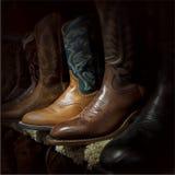 Carregadores de cowboy imagem de stock