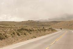 Carreggiata peruviana fotografia stock