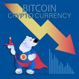 Carregue com uma vela e um gráfico financeiro da vara da vela Fotografia de Stock Royalty Free