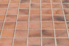 Carrelage de poterie de terre Photographie stock libre de droits