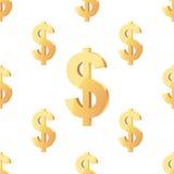 Carrelage sans couture de modèles de vecteur universel finances Image libre de droits