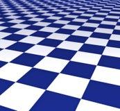 carrelages bleus et blancs illustration libre de droits