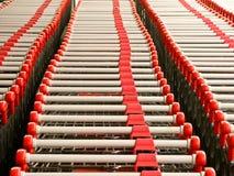 Carrelli di acquisto Fotografia Stock
