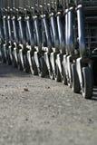 Carrelli di acquisto Fotografie Stock Libere da Diritti