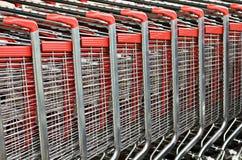 Carrelli di acquisto Fotografia Stock Libera da Diritti
