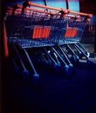 Carrelli di acquisto (lomo) Fotografia Stock Libera da Diritti