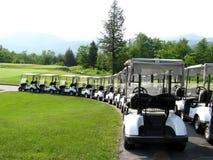 Carrelli di golf Immagine Stock Libera da Diritti
