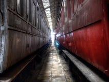 Carrelli ferroviari Immagini Stock Libere da Diritti