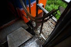 Carrelli ferroviari Fotografie Stock Libere da Diritti
