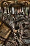 Carrello abbandonato Fotografie Stock