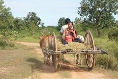 Carrello cambogiano Fotografia Stock Libera da Diritti