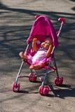 Carrello del bambino Fotografie Stock
