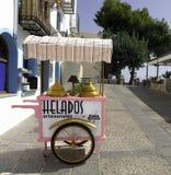 Carrello del gelato Fotografia Stock Libera da Diritti