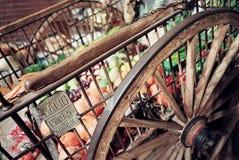 Carrello del mercato Fotografie Stock Libere da Diritti