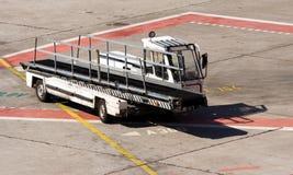 Carrello del nastro trasportatore Fotografie Stock