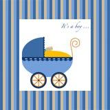 Carrello del neonato royalty illustrazione gratis