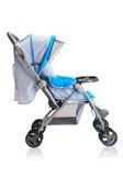Carrello del passeggiatore della carrozzina per il bambino appena nato Fotografia Stock Libera da Diritti