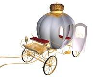 Carrello della Cinderella illustrazione di stock