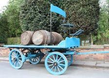 Carrello della fabbrica di birra. Fotografie Stock