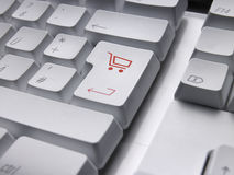 CARRELLO della tastiera Immagini Stock