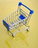 Carrello di acquisto Fotografie Stock Libere da Diritti