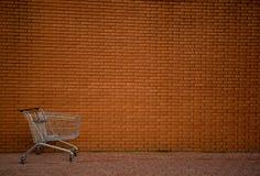Carrello di acquisto Fotografia Stock