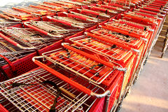 Carrello di acquisto Fotografie Stock