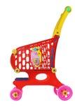 Carrello di acquisto del giocattolo Fotografie Stock
