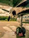 Carrello di atterraggio Fotografie Stock Libere da Diritti