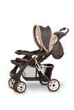 Carrello di bambino (passeggiatore) Immagine Stock