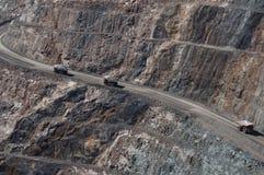 Carrello di miniera nel Kalgoorlie Immagini Stock Libere da Diritti