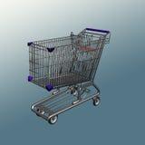 Carrello di Shoping Fotografia Stock Libera da Diritti